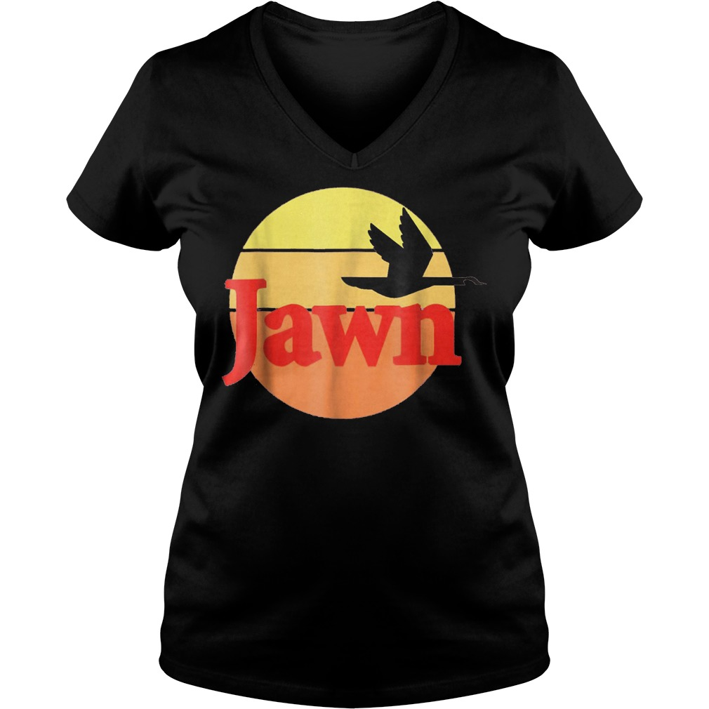 Jawn wawa shirt Ladies V-Neck