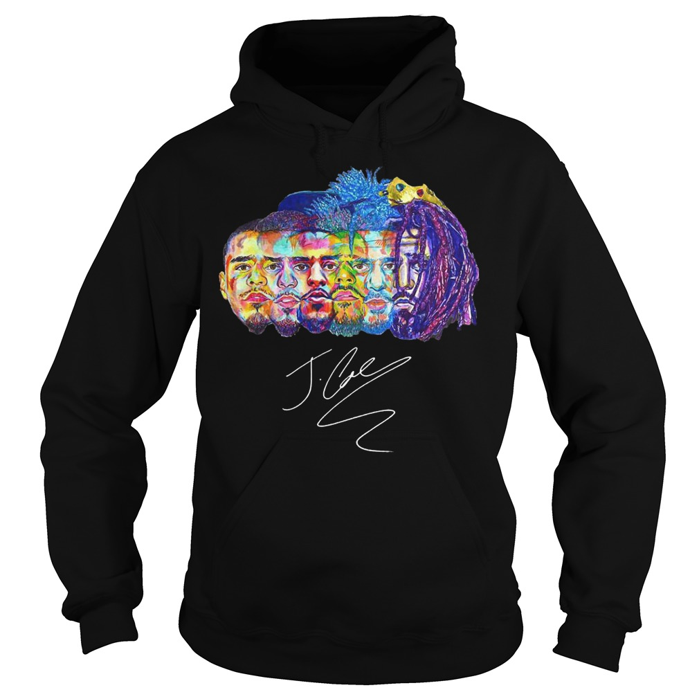 Kod J Cole Collections Signed Autograph shirt Hoodie