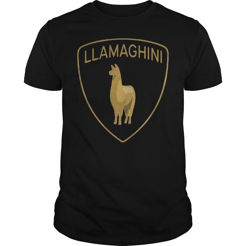 Llama lamborghini Llamaghini shirt