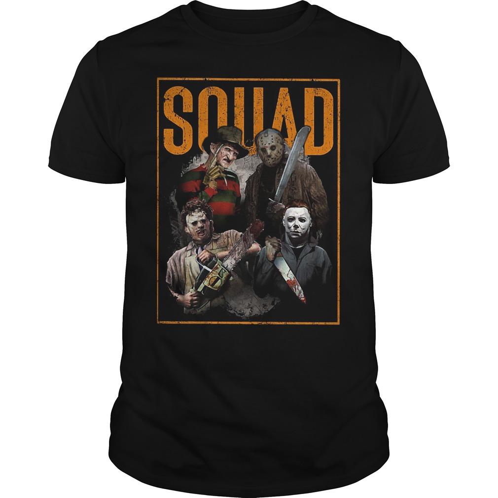 Massacre Machine Horror Squad shirt