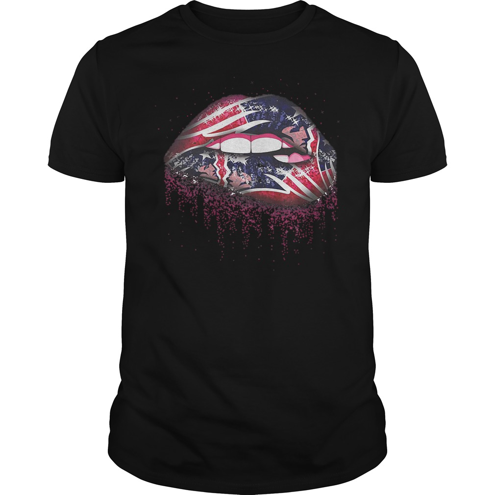 New England Patriots Sweat Lips shirt