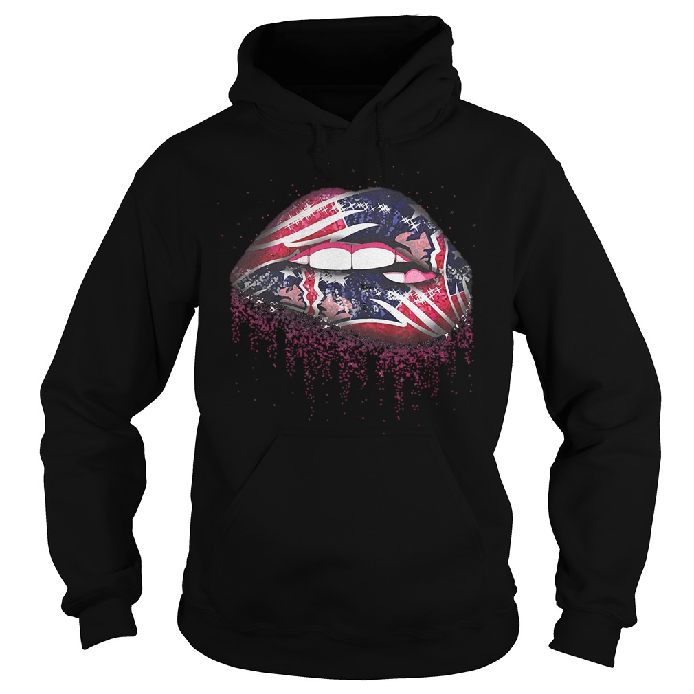New England Patriots Sweat Lips shirt Hoodie