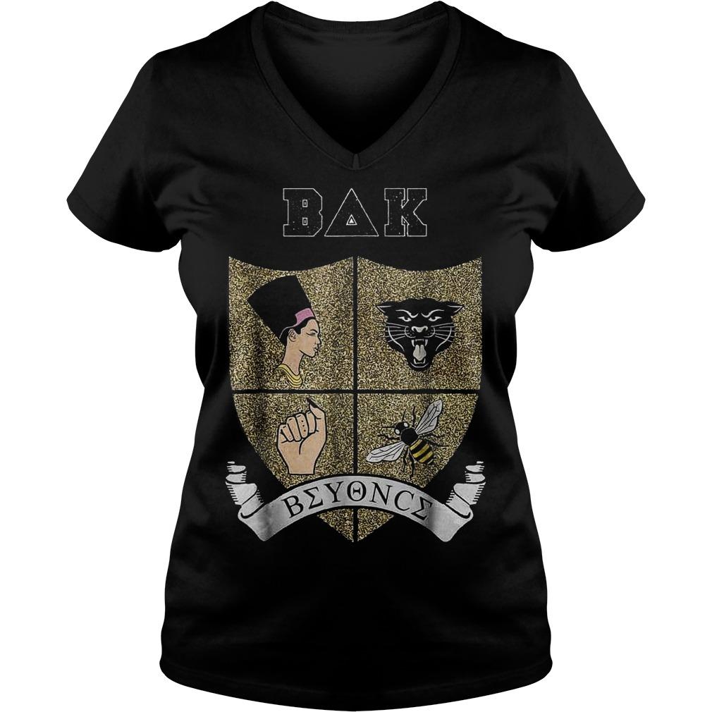 On-the-Run-OTR-II Tour-Bey-Bey-chella Bak Beyonce Shirt Ladies V-Neck