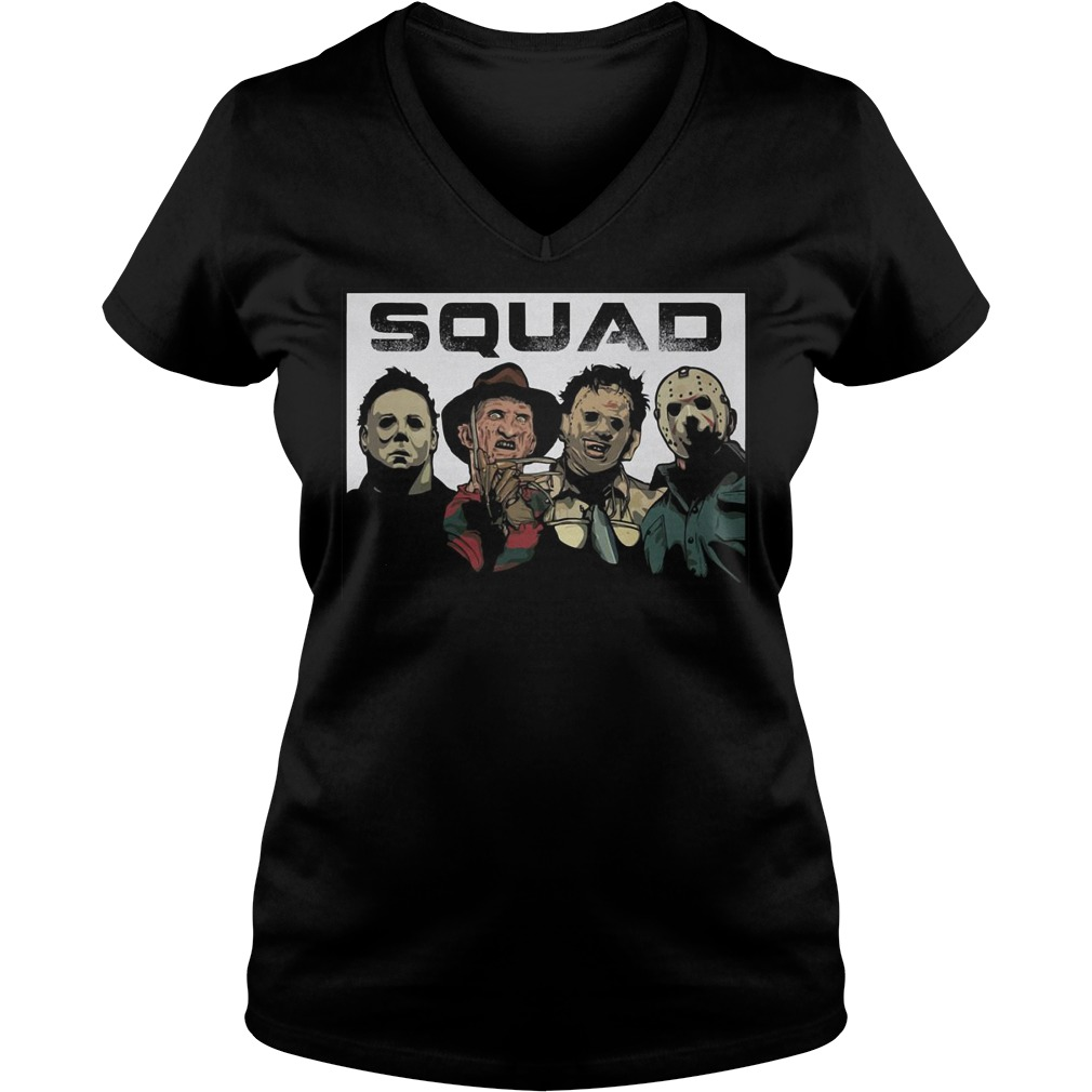 The Nightmare Squad shirt Ladies V-Neck