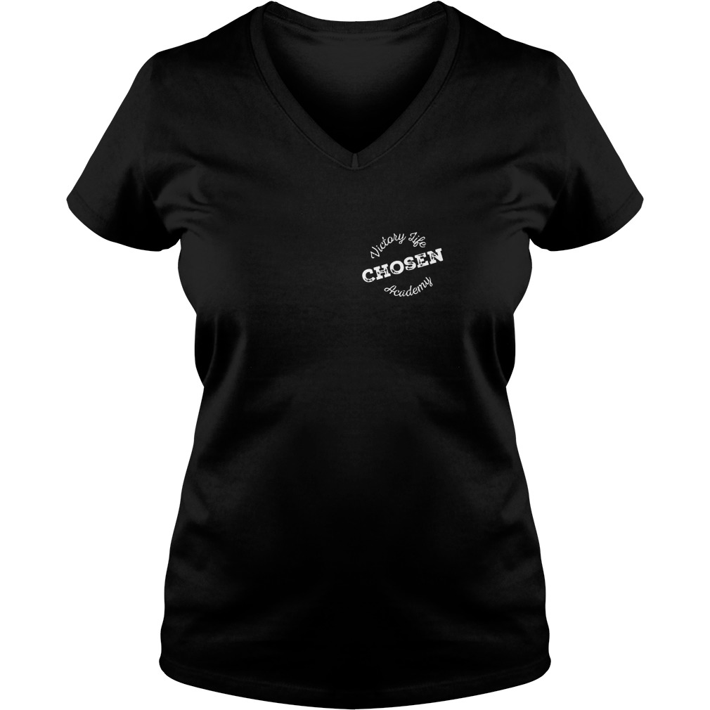 Victory Life Chosen Academy Shirt Ladies V-Neck