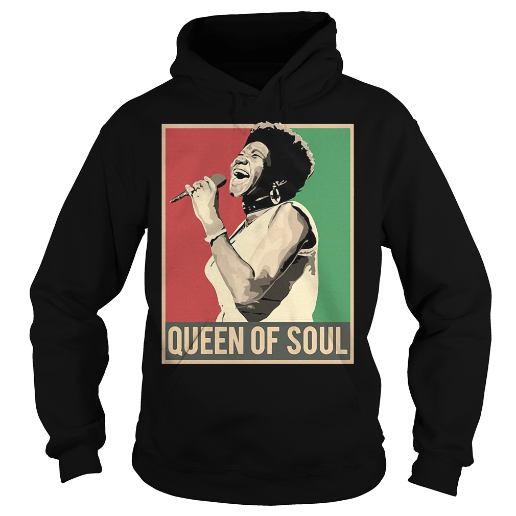 Vintage Aretha We Love You Queen Of Soul Aretha Franklin Shirt Hoodie