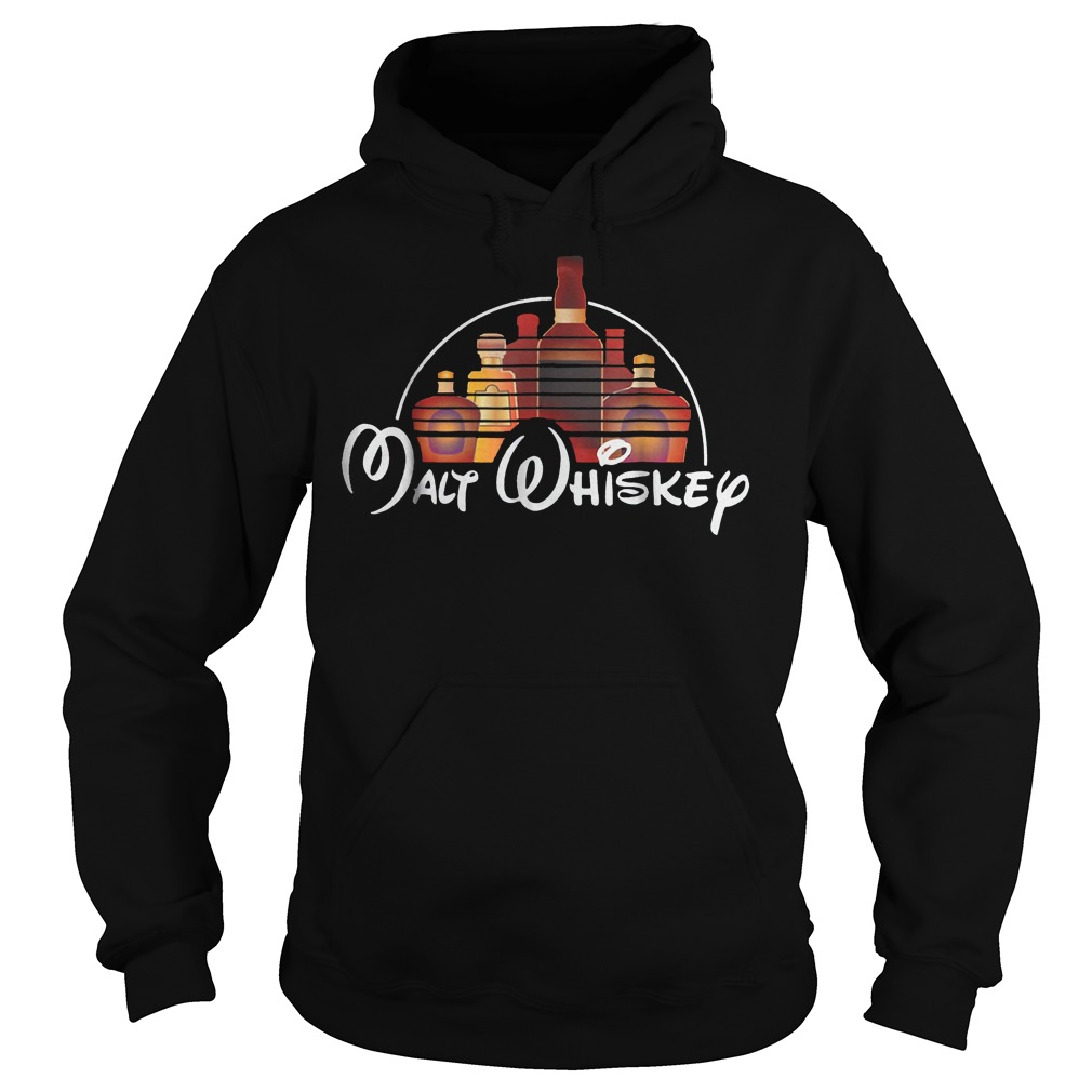 Walt Disney Malt Whiskey shirt Hoodie
