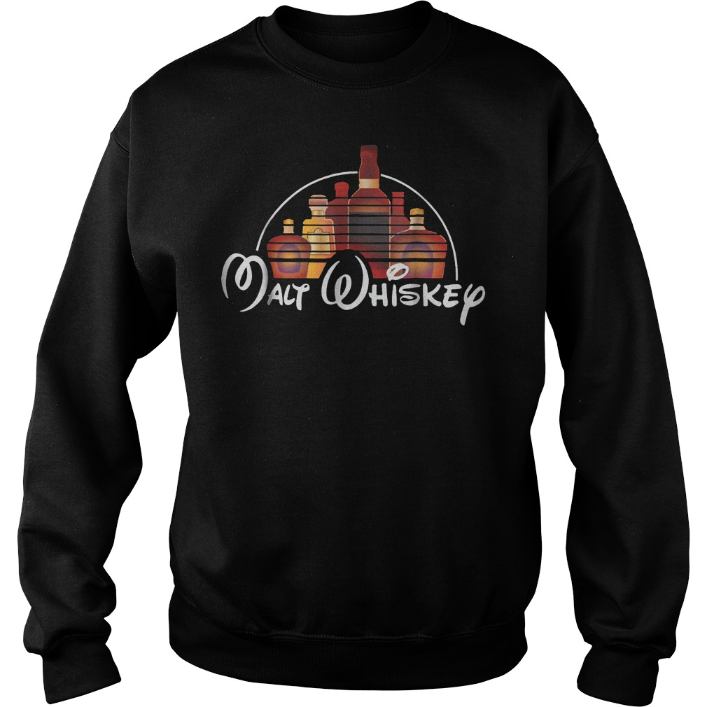Walt Disney Malt Whiskey shirt Sweatshirt Unisex