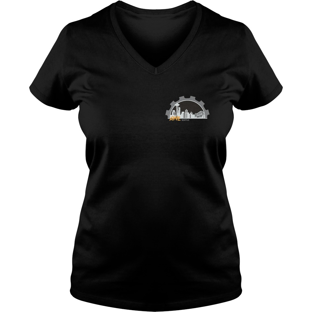 Women In Engineering Seattle Shirt Ladies V-Neck