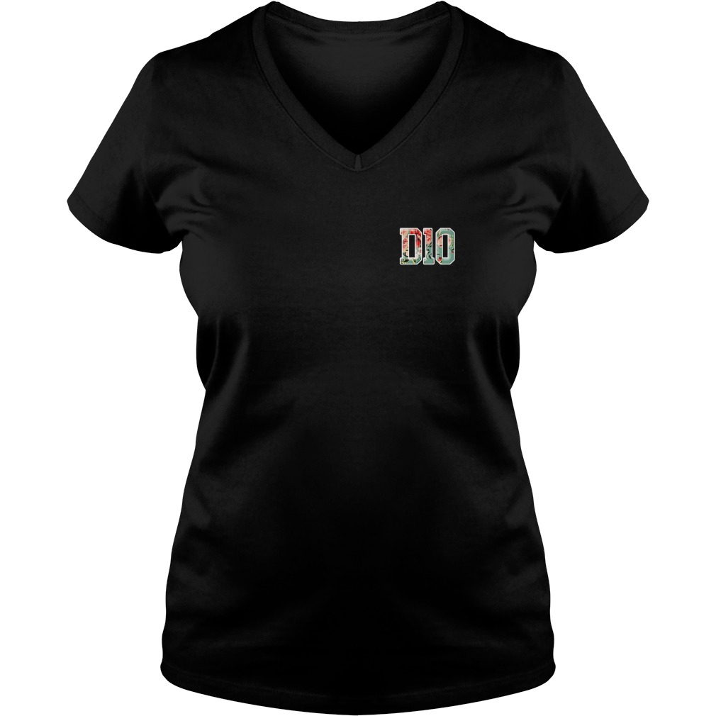 D10 knight shirt Ladies V-Neck