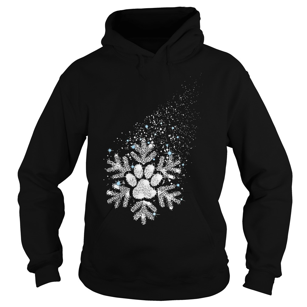 Dog snowflake shirt Hoodie
