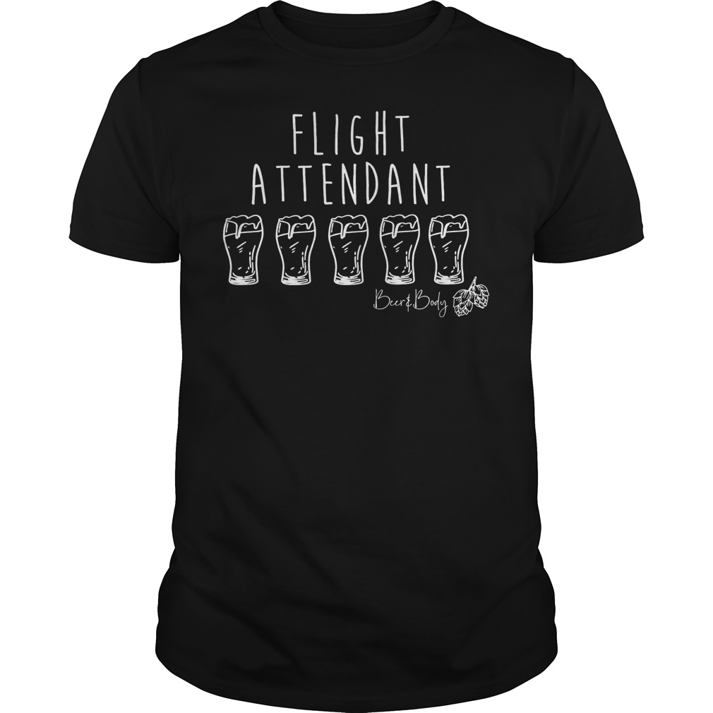 Flight Attendant Shirt Classic Guys Unisex Tee.jpg