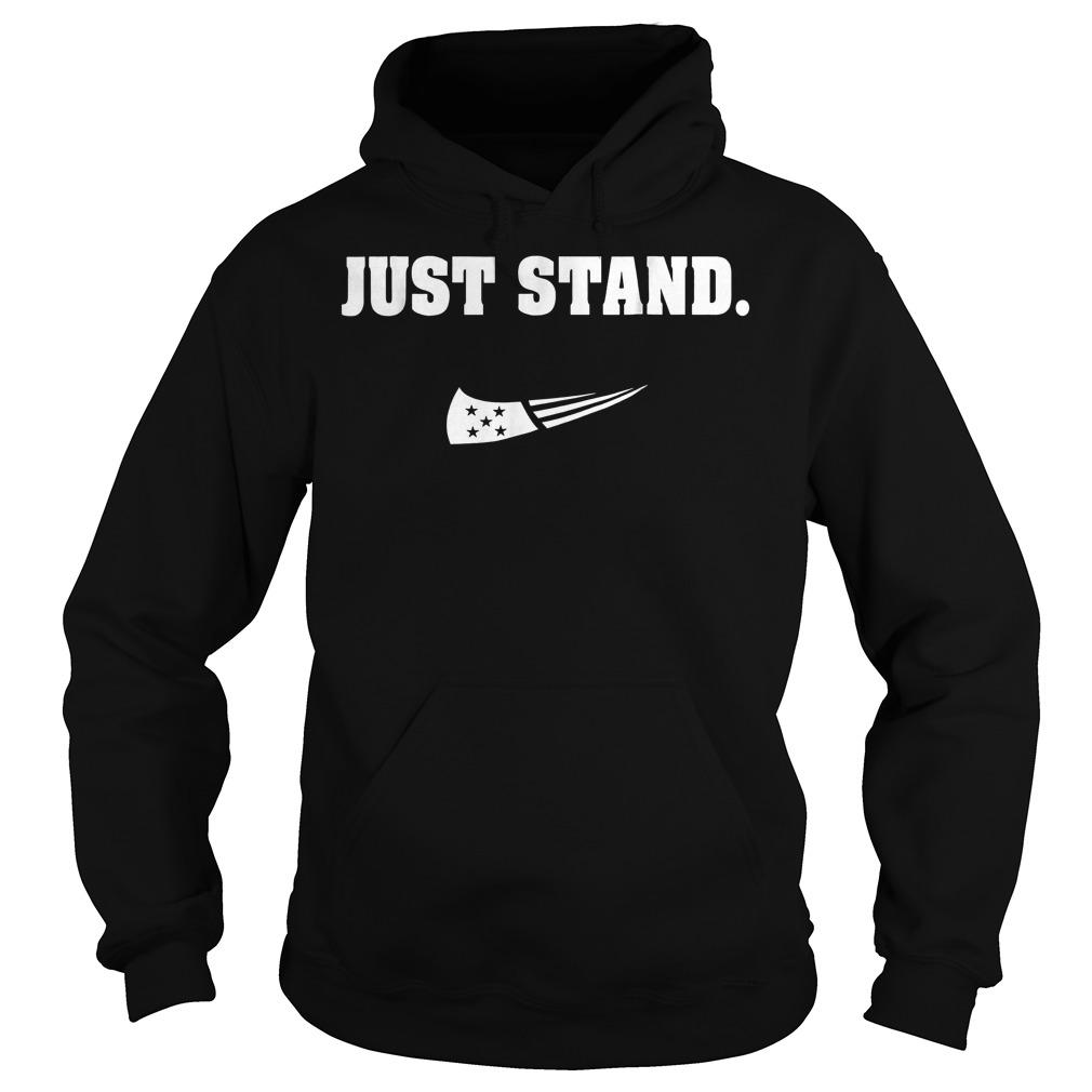 Just Stand Nike mashup american flag Shirt Hoodie