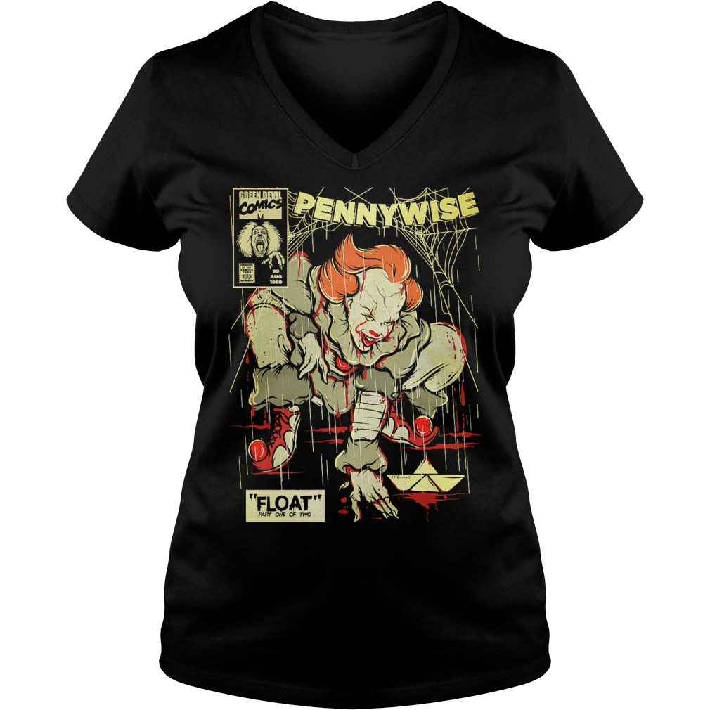 Pennywise It is a Spider Shirt Ladies V-Neck