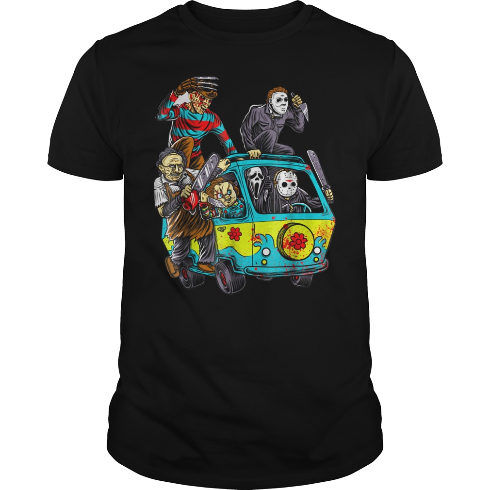The Massacre machine halloween horror shirt