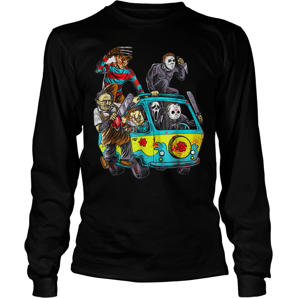 The Massacre machine halloween horror shirt Longsleeve Tee Unisex