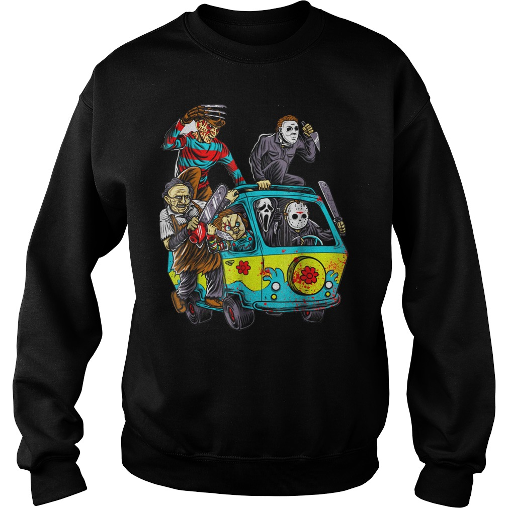 The Massacre machine halloween horror shirt Sweatshirt Unisex