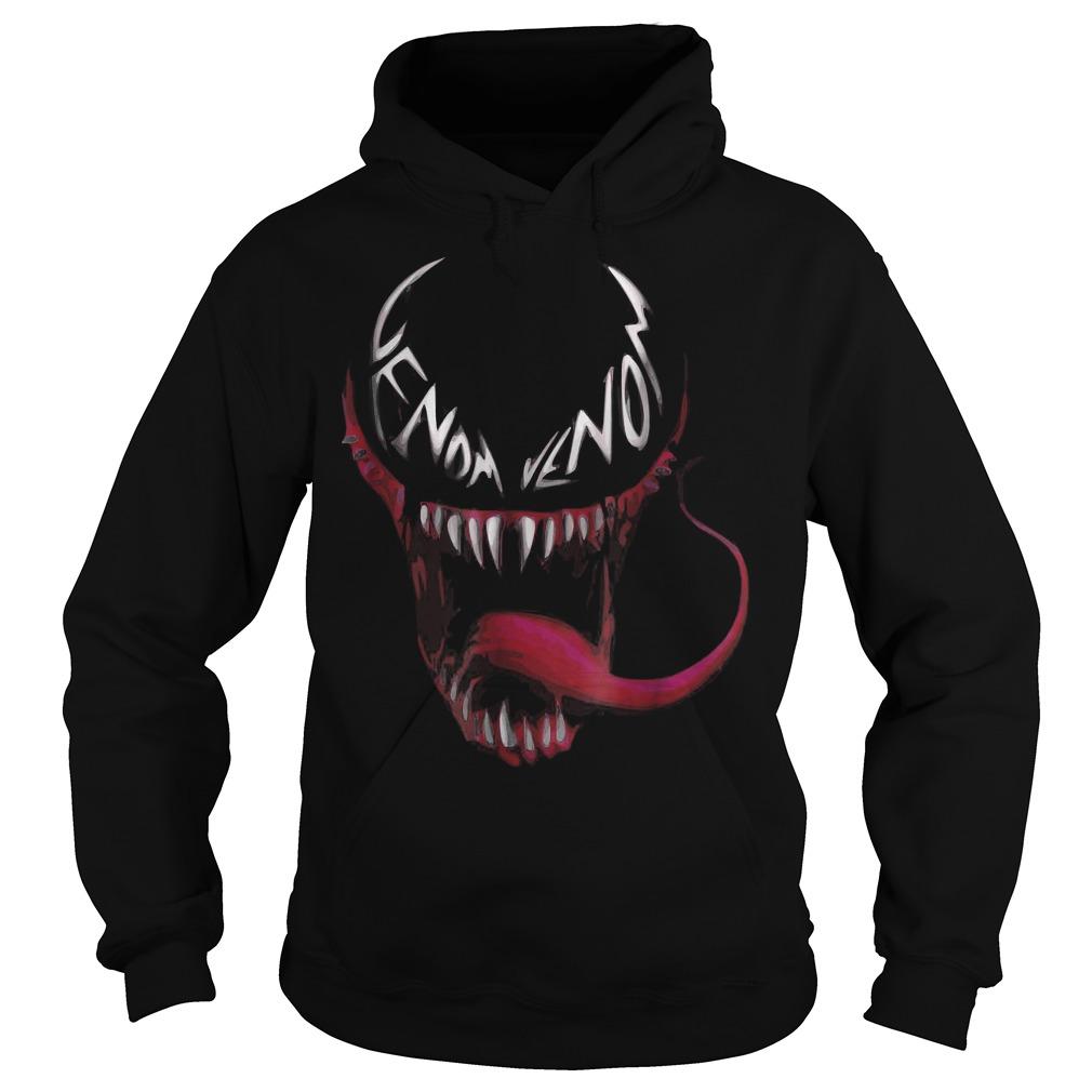 Venom spider face logo shirt Hoodie