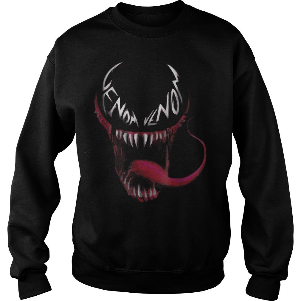 Venom spider face logo shirt Sweatshirt Unisex