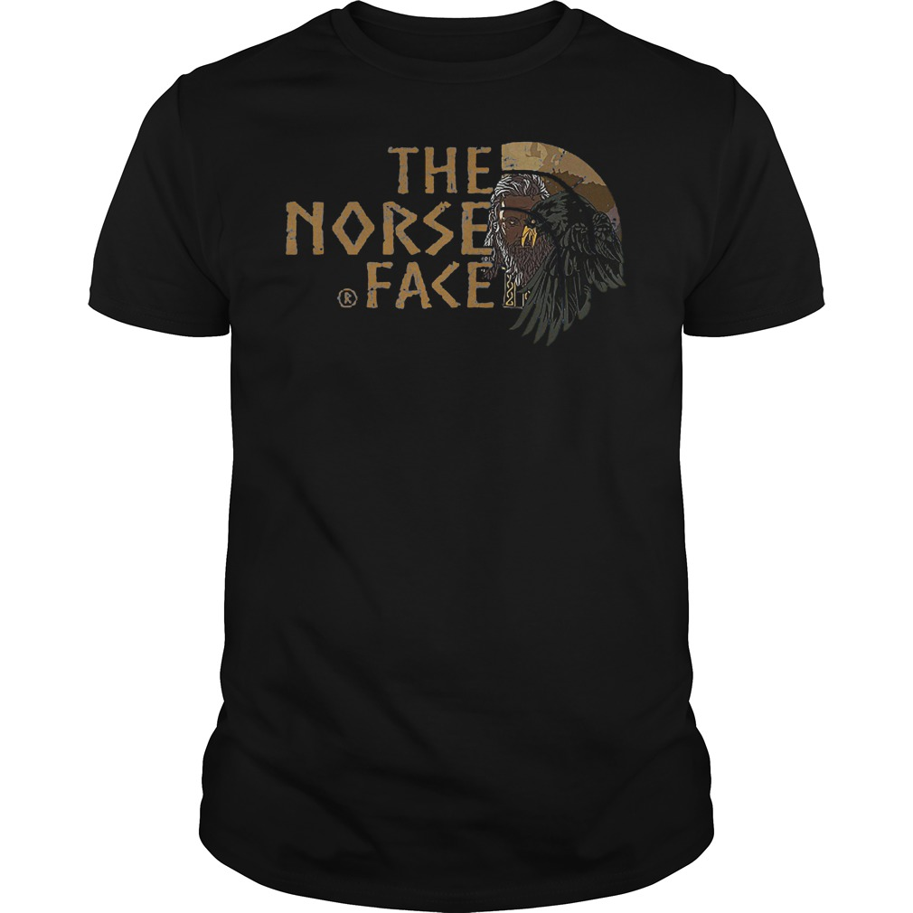 Victory Or Valhalla Viking The Norse Face Shirt