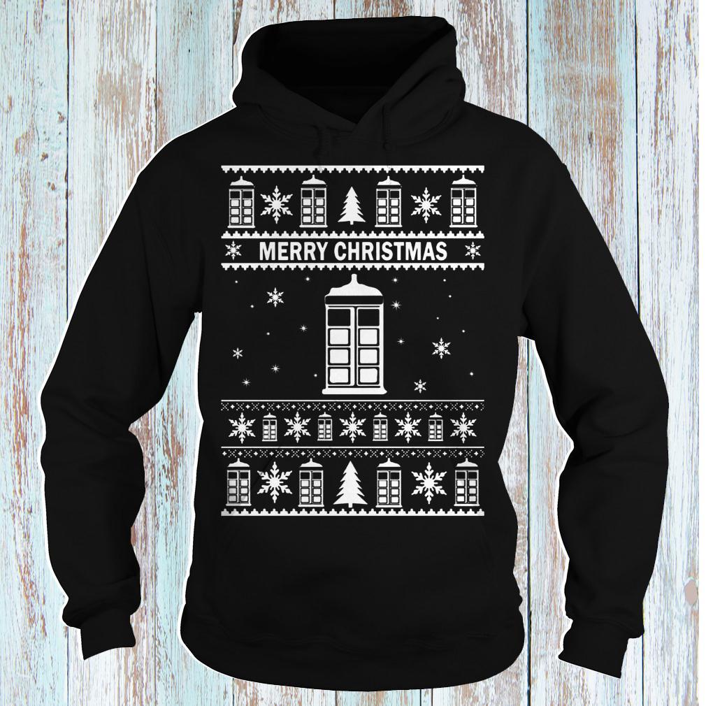 1 Doctor Who merry Christmas Sweater shirt hoodie long sleeve shirt