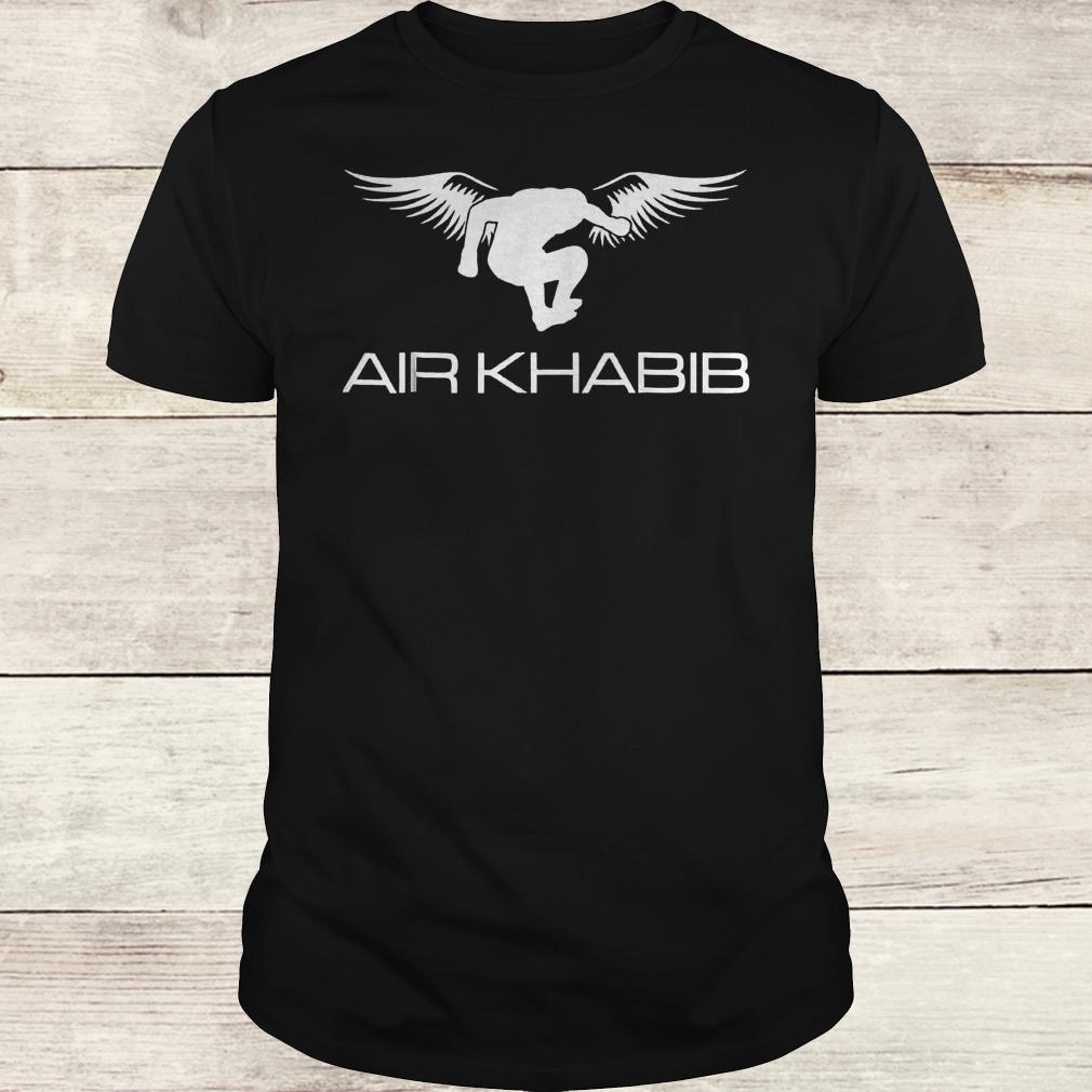 Air Khabib Eagle Khabib jump shirt