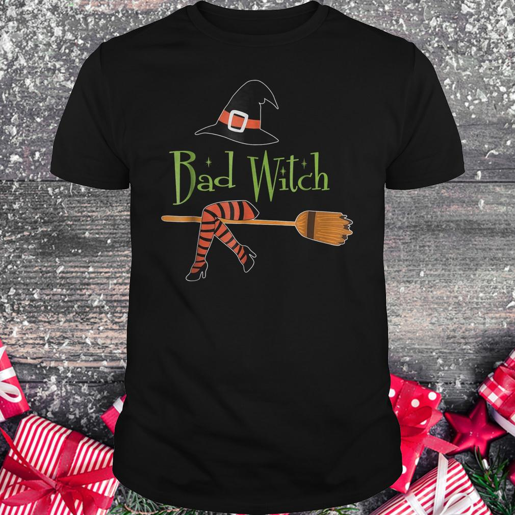 Bad witch halloween shirt