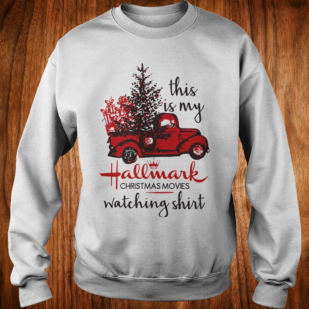 Best Price This is my Hallmark christmas movies watching shirt Sweatshirt Unisex