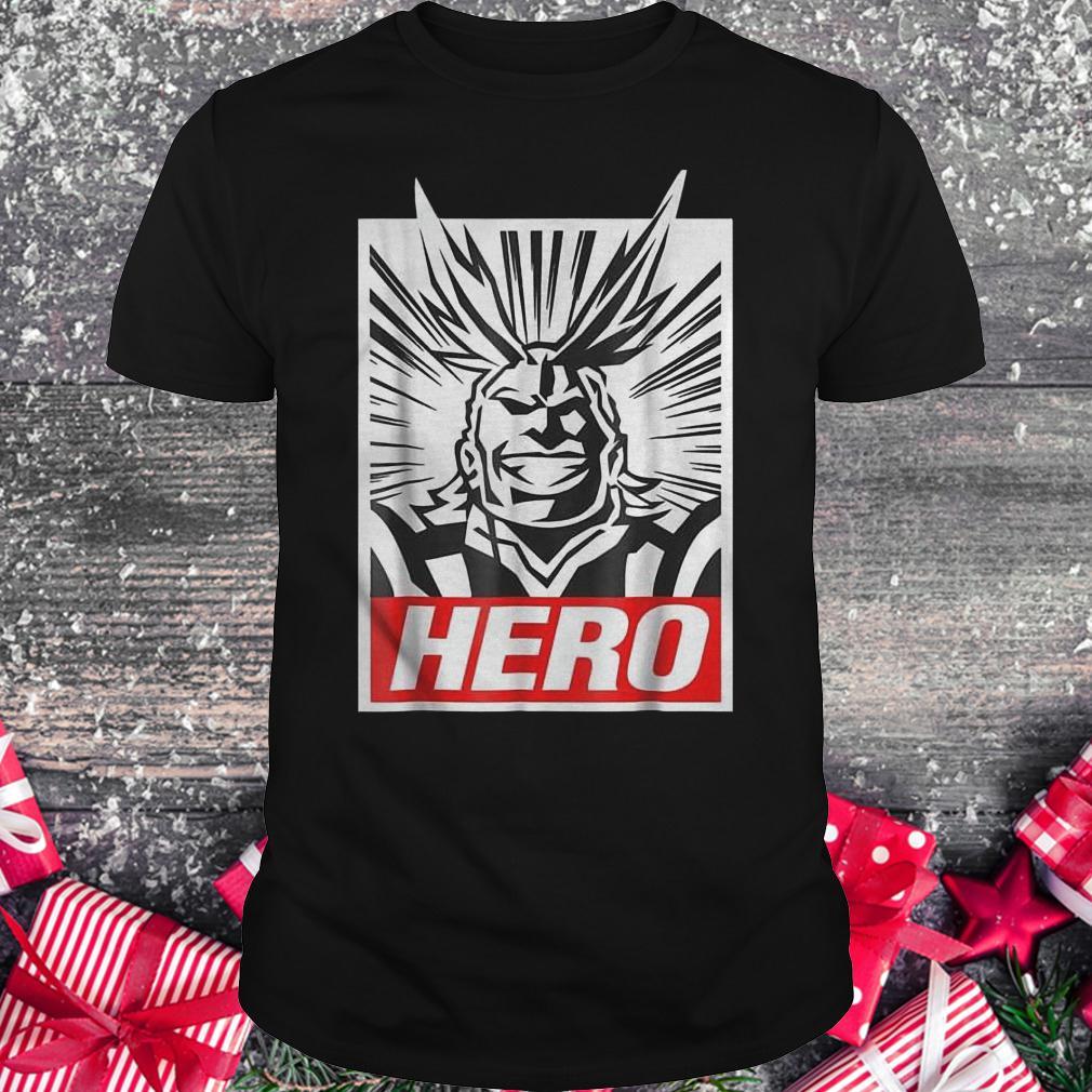 Boku no hero academia all might shirt