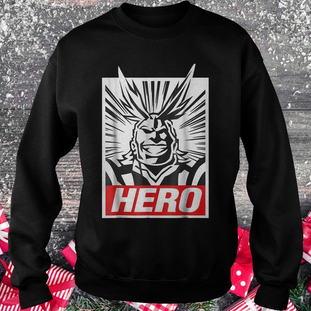 Boku no hero academia all might shirt Sweatshirt Unisex