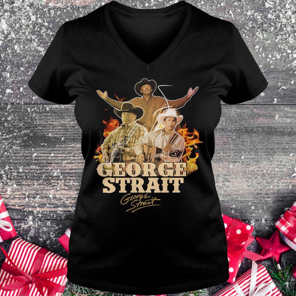 George Strait George Strait shirt shirt Ladies V-Neck