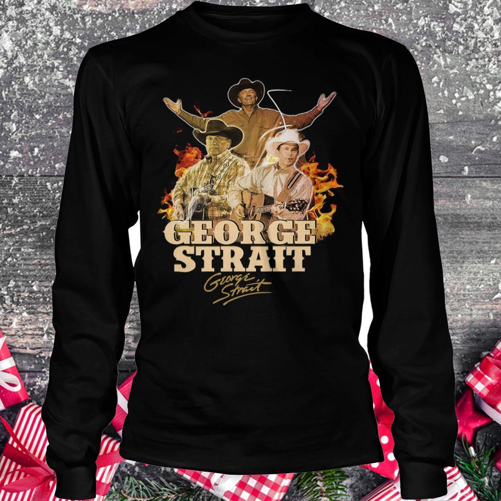 George Strait George Strait shirt shirt Longsleeve Tee Unisex