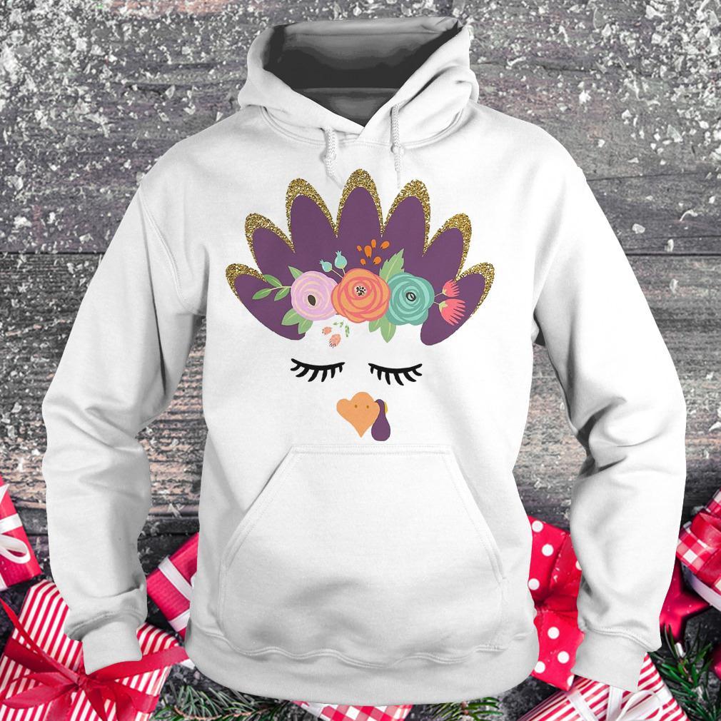 Girls' glam Turkey shirt Hoodie
