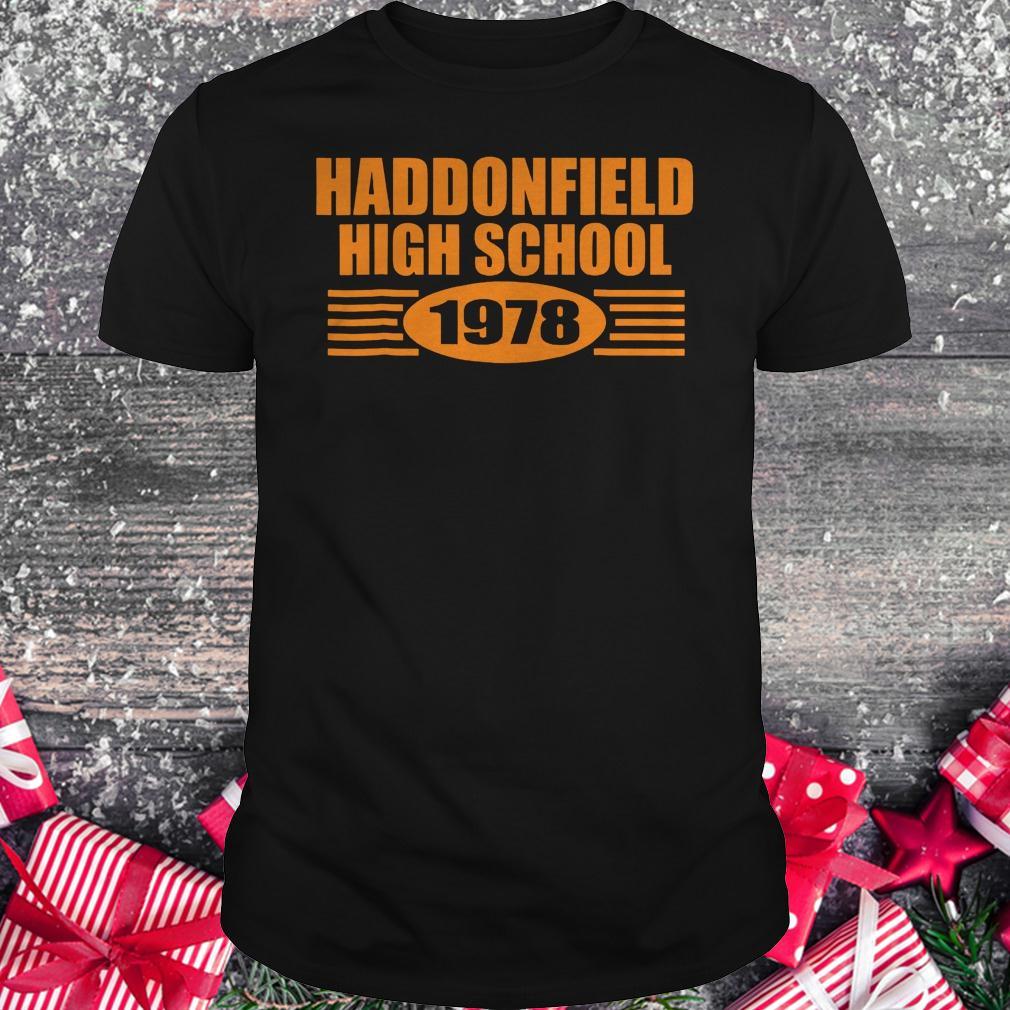 Haddonfield high school 1978 shirt