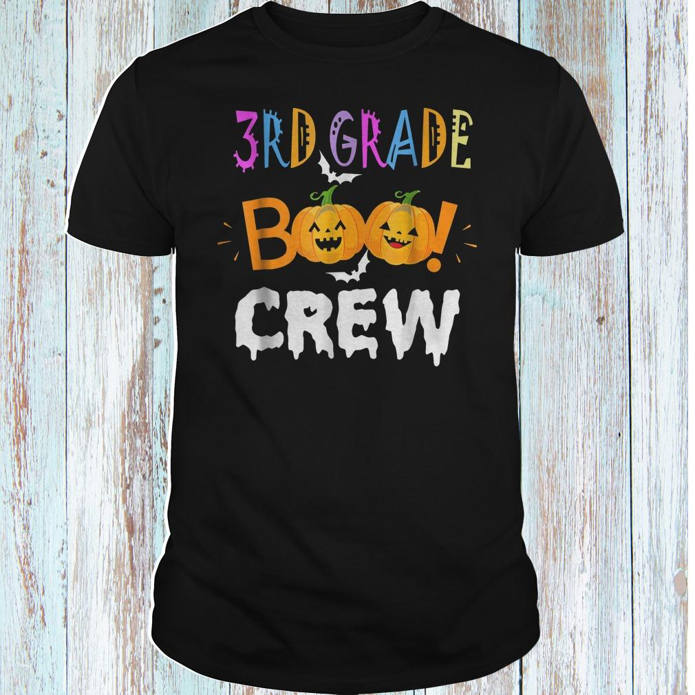 Halloween 3rd grade funny the Boo crew shirt Classic Guys / Unisex Tee