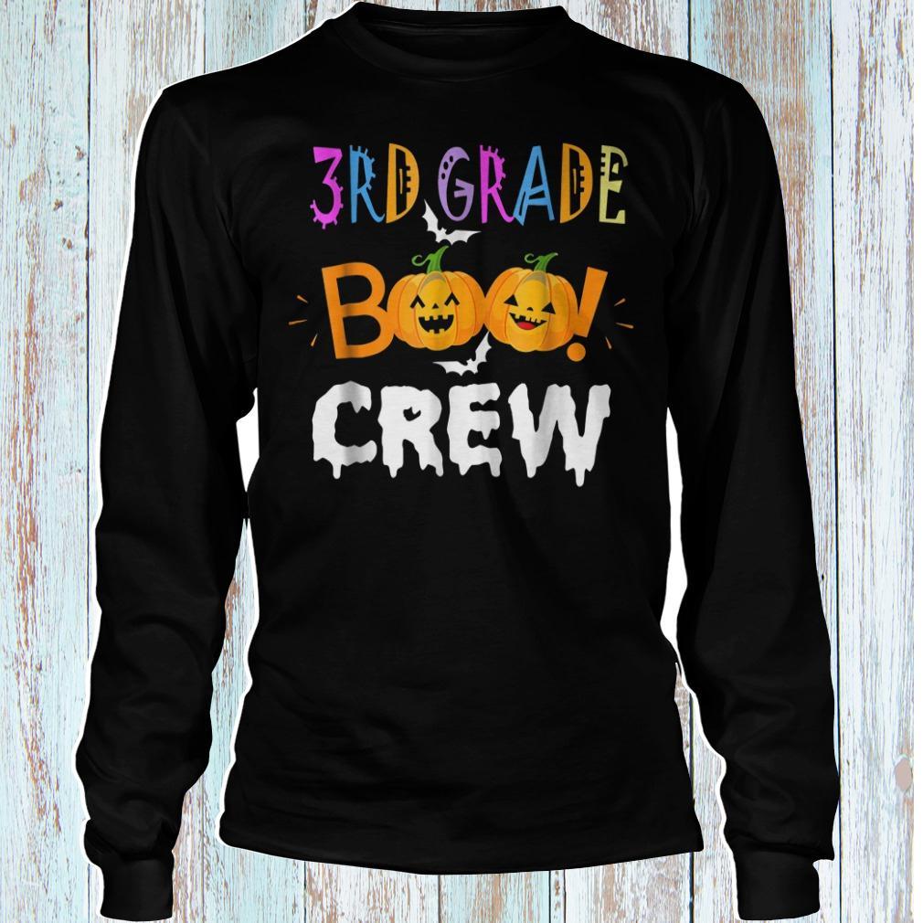 Halloween 3rd grade funny the Boo crew shirt Longsleeve Tee Unisex