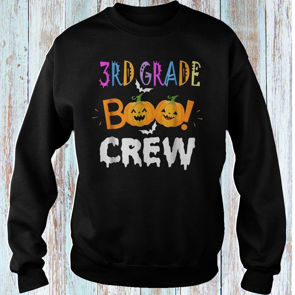 Halloween 3rd grade funny the Boo crew shirt Sweatshirt Unisex
