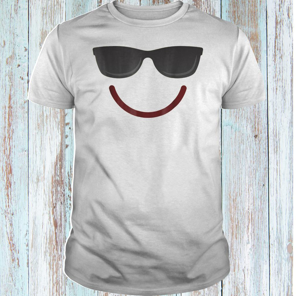 Halloween Emojis smile sunglasses shirt Classic Guys / Unisex Tee