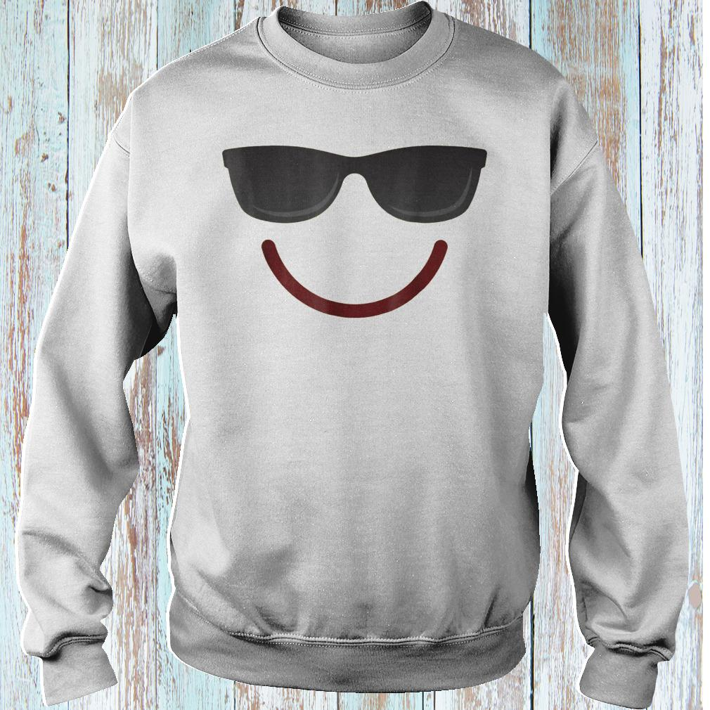 Halloween Emojis smile sunglasses shirt