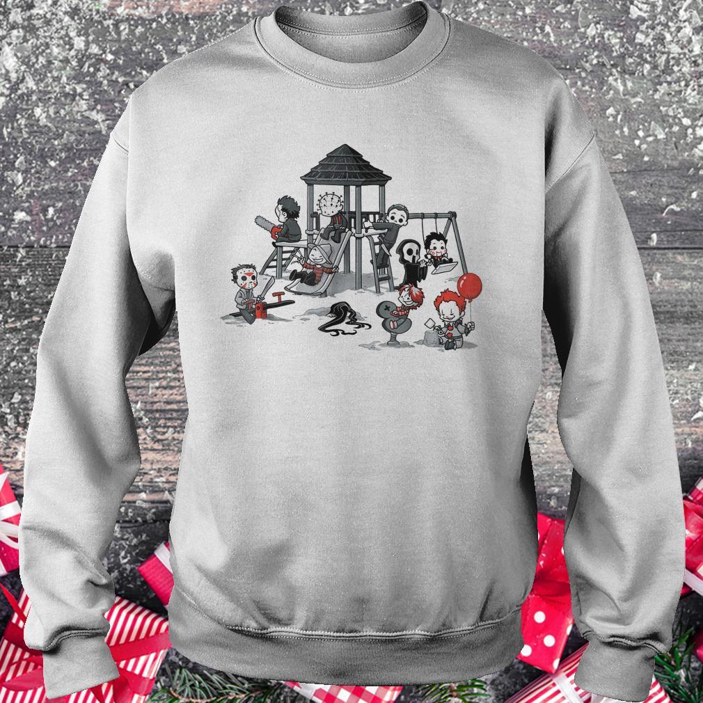 Halloween horror park movie shirt Sweatshirt Unisex