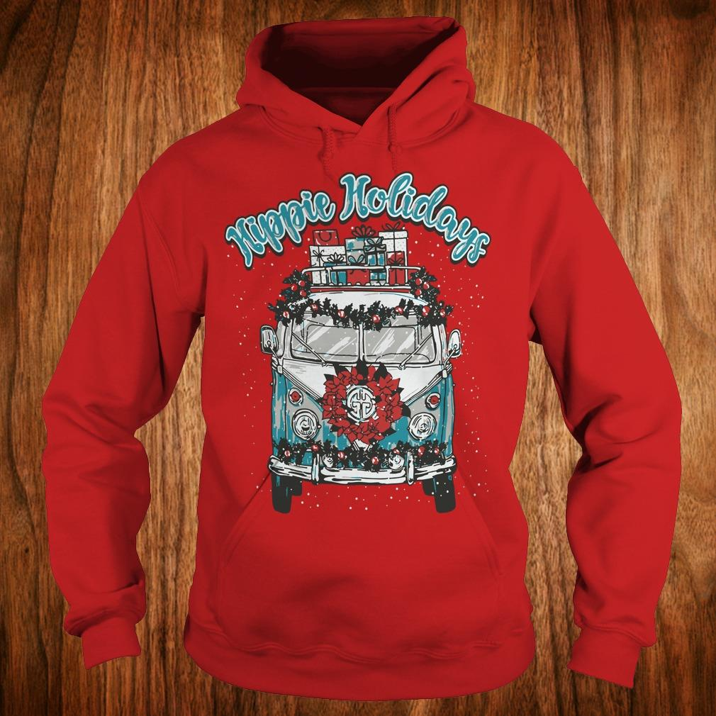 Hot Christmas Hippie Holidays Sweatshirt Hoodie