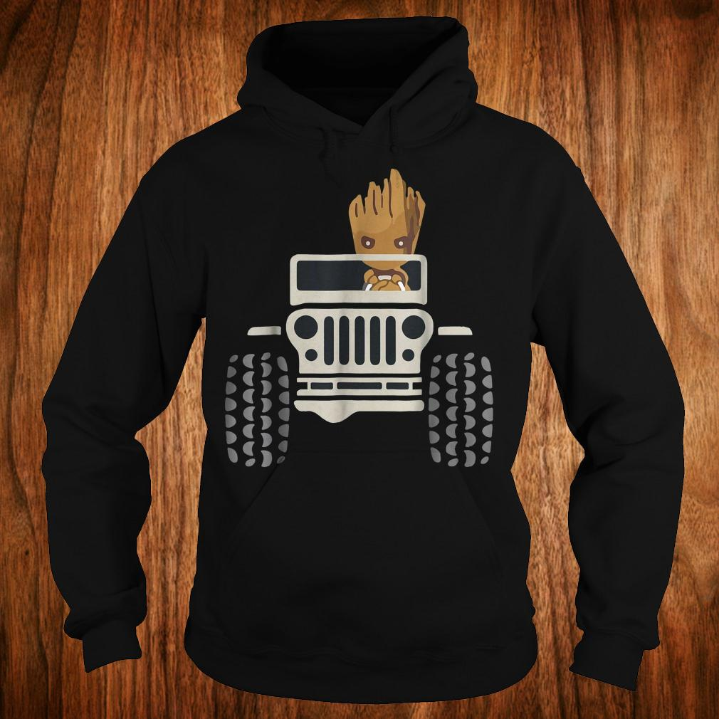 I Am Groots withs Jeeps's shirt Hoodie
