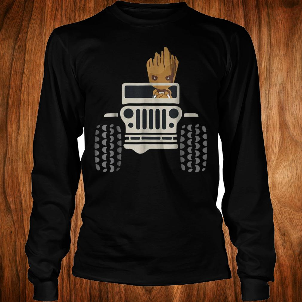 I Am Groots withs Jeeps's shirt Longsleeve Tee Unisex