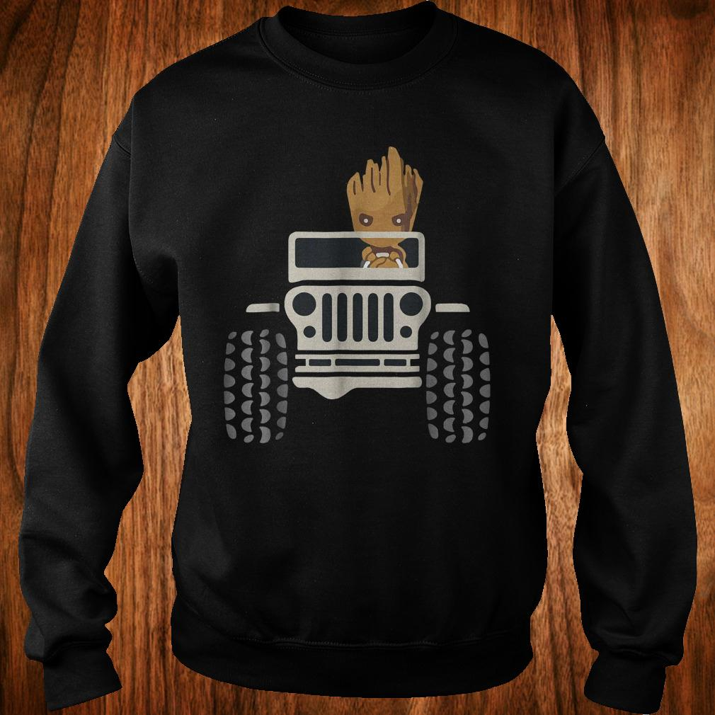 I Am Groots withs Jeeps's shirt Sweatshirt Unisex