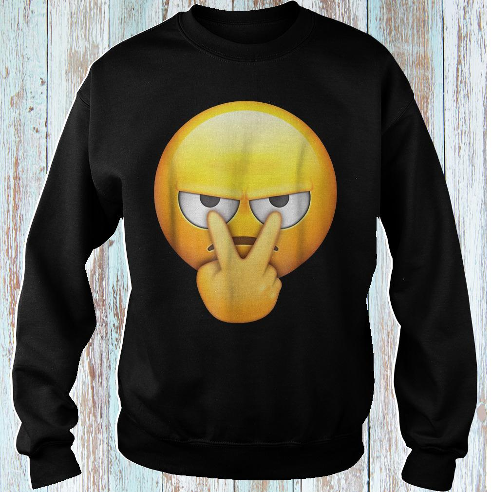 I'm watching you funny emoji halloween shirt