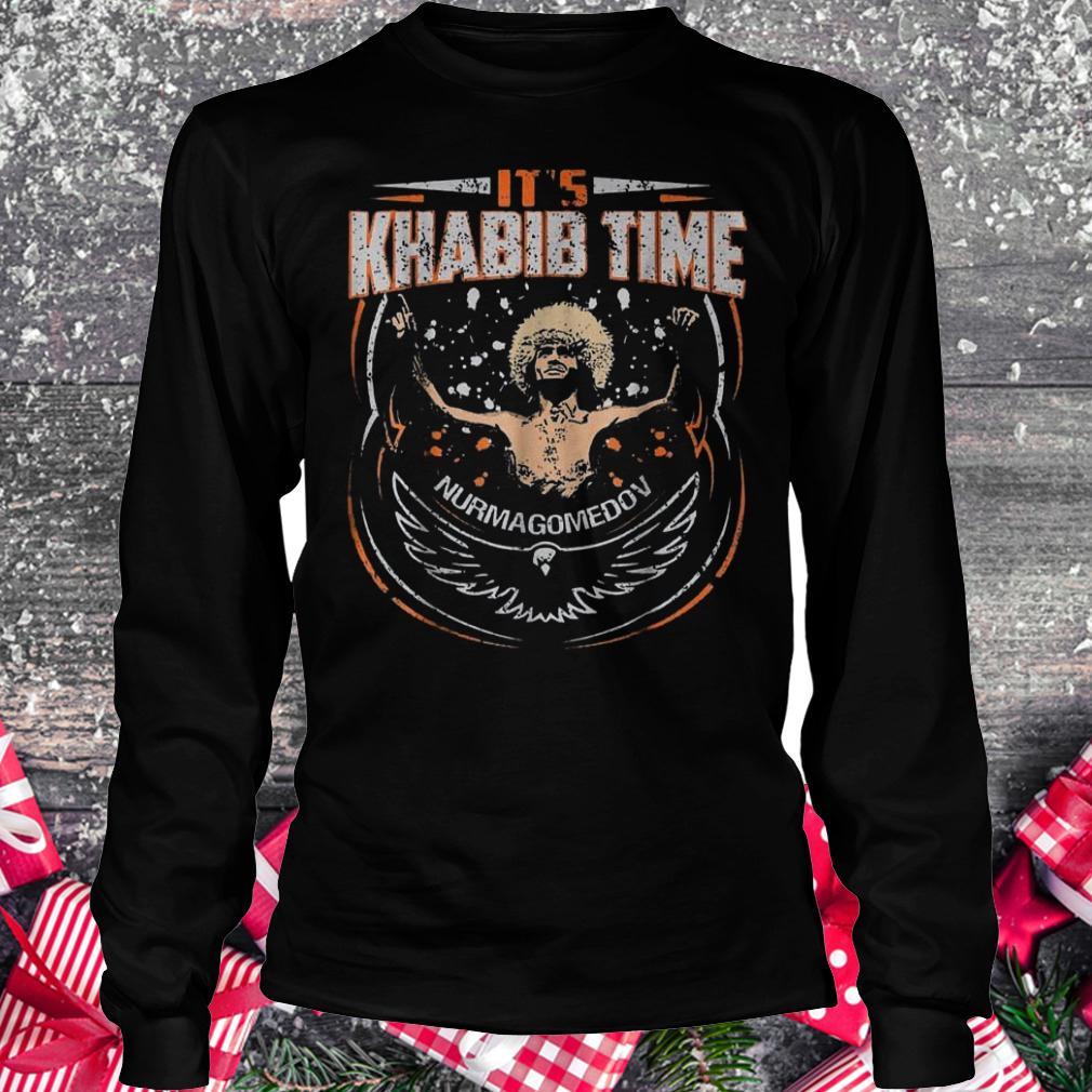 It's Khabib time Nurmagomedov shirt Longsleeve Tee Unisex