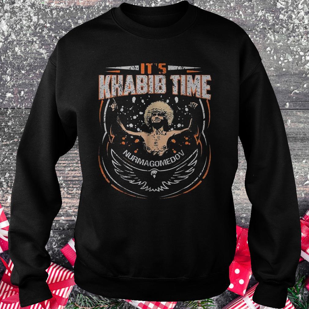 It's Khabib time Nurmagomedov shirt Sweatshirt Unisex