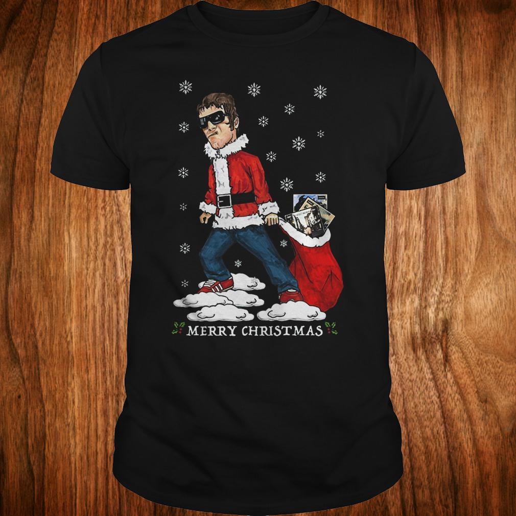 Liam Gallagher Merry Christmas jumper shirt shirt