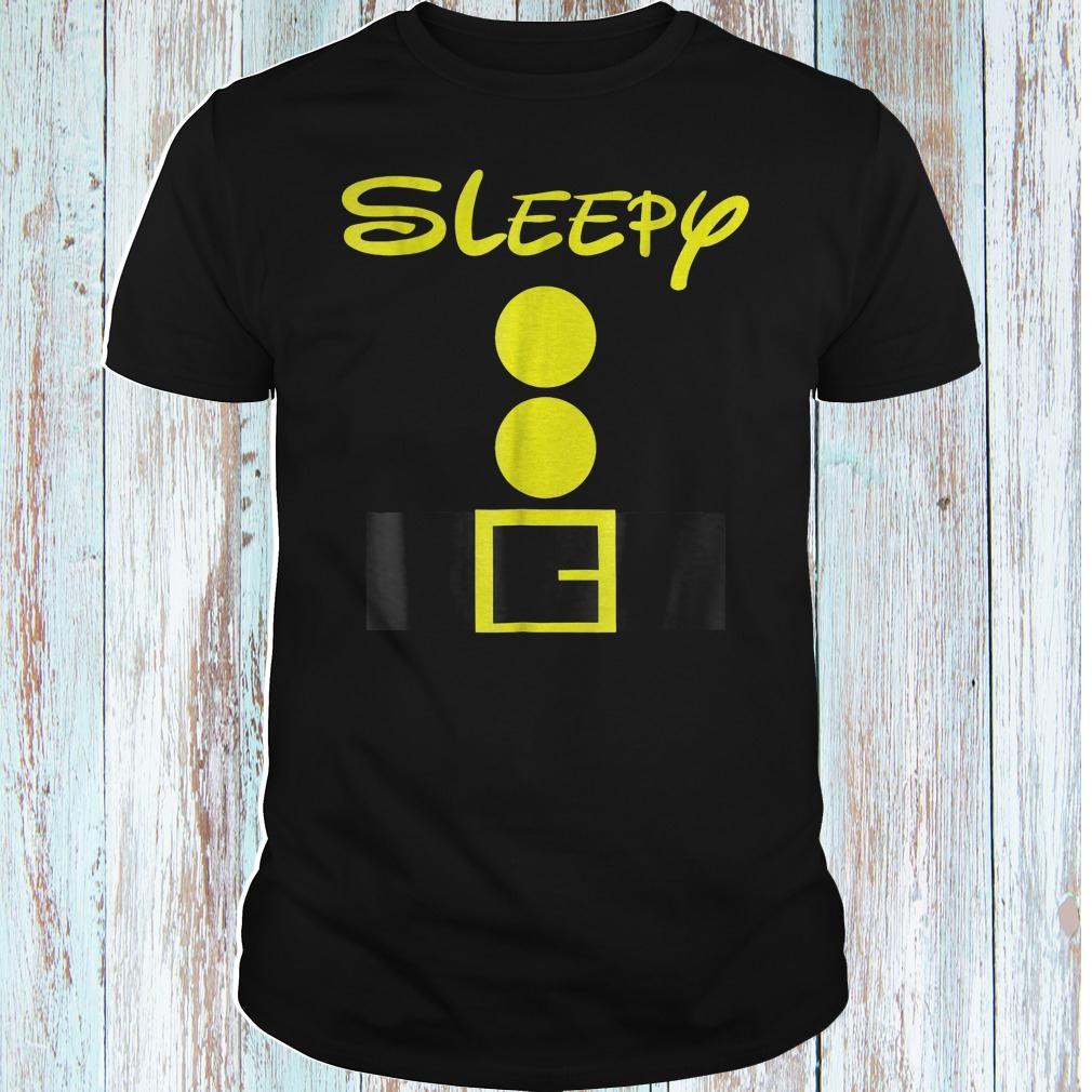 Sleepy dwarf halloween shirt