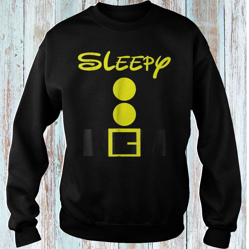 Sleepy dwarf halloween shirt Sweatshirt Unisex